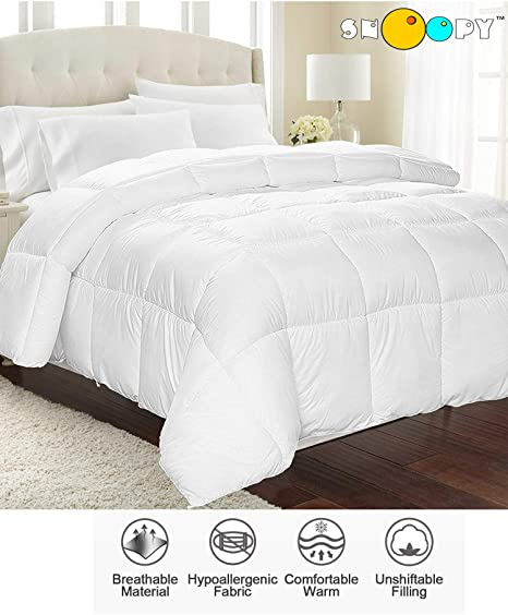 Buy Snoopy Home Ultra Soft Microfiber Double Bed Comforter 200 Gsm