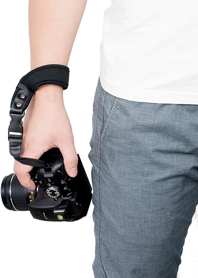 Sugelary Kamera Handschlaufe Neopren Kamera Handgelenkschlaufe Trageschlaufe Für Canon Nikon Sony Fujifilm Olympus Dslr Slr St 1 Elektronik