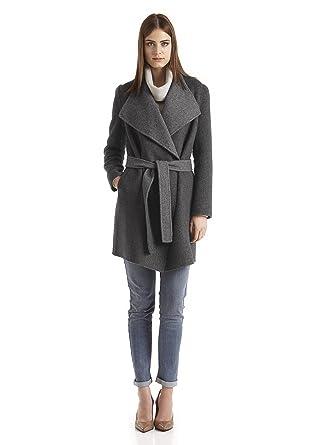 Bio Damen Mantel aus Alpaka mit Schurwolle, grau, 48  Amazon.de ... b161627824