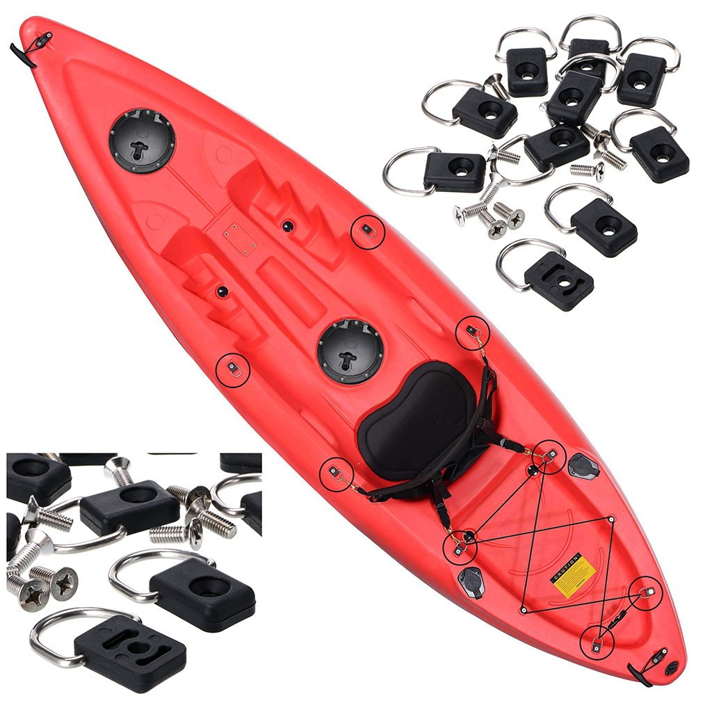 Hipiwe Kayak Boat Accessories 6 Inch Hole Diameter Deck Hatch with Cat Bag for Kayak Boat Fishing Rigging