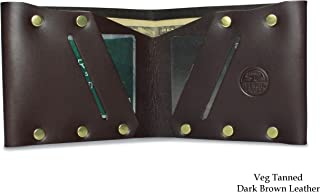 product image for Slim Bifold Wallet, Leather Billfold Wallet, Handmade Wallets for Men with RFID Protection