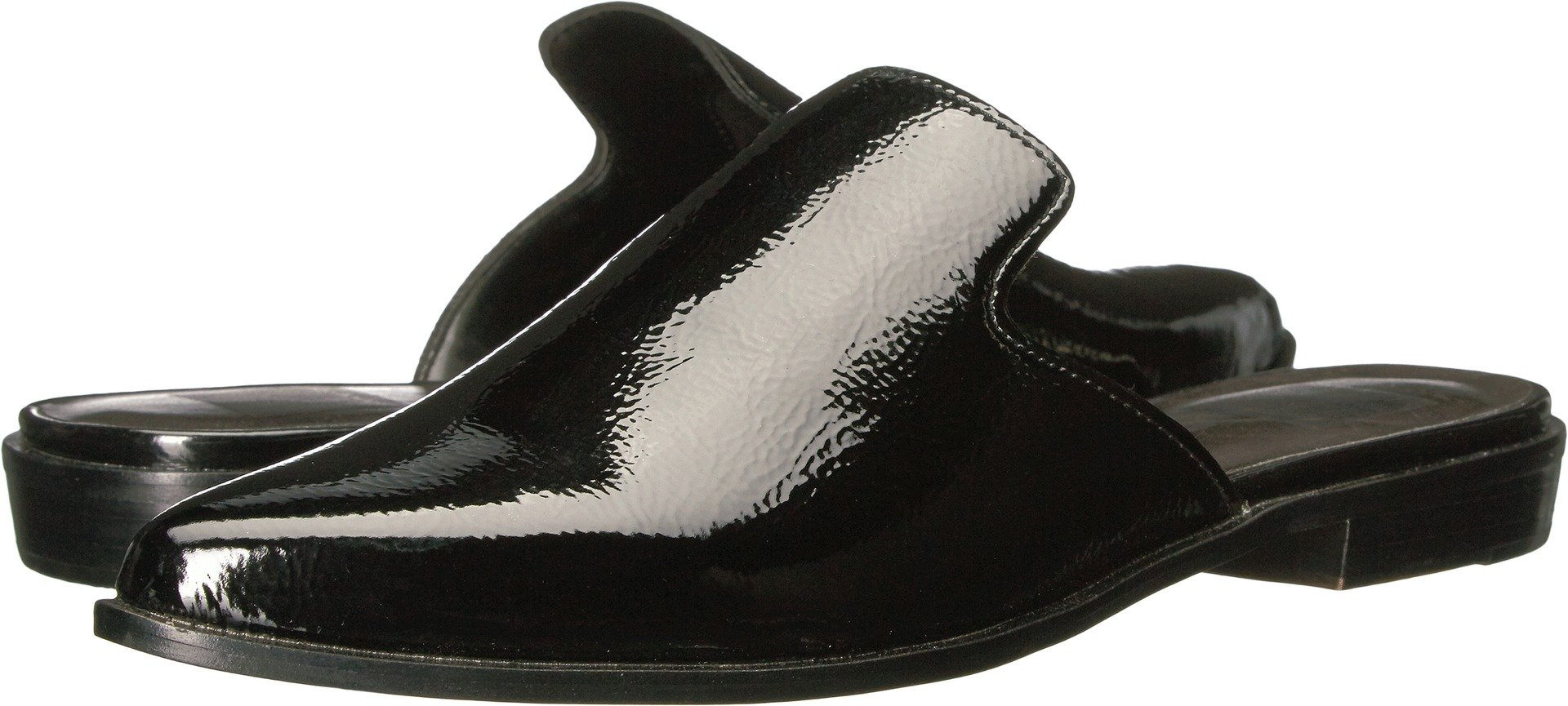 Dolce Vita Women's Holli Mule, Black Patent Stella, 7.5 Medium US