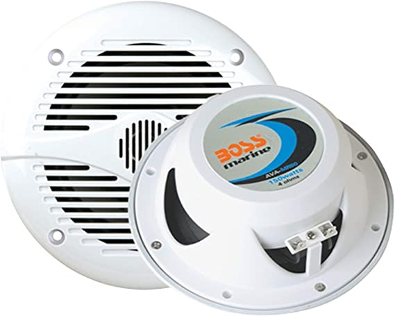 [FPER_4992]  Amazon.com: BOSS Audio Systems MR60W 200 Watt Per Pair, 6.5 Inch, Full  Range, 2 Way Weatherproof Marine Speakers Sold in Pairs: Car Electronics | Boss Marine Radio Speakers Wiring |  | Amazon.com