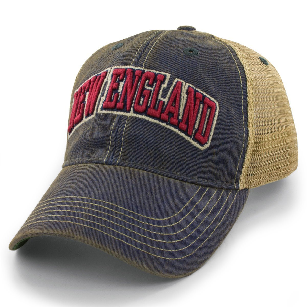 d5cac3dfe Chowdaheadz New England Arch Dirty Water Trucker Hat at Amazon Men's  Clothing store: