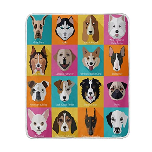 Kids Bedding With Dogs And Puppies Tktb