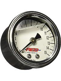 AED 6101 Liquid Filled Fuel Pressure Gauge