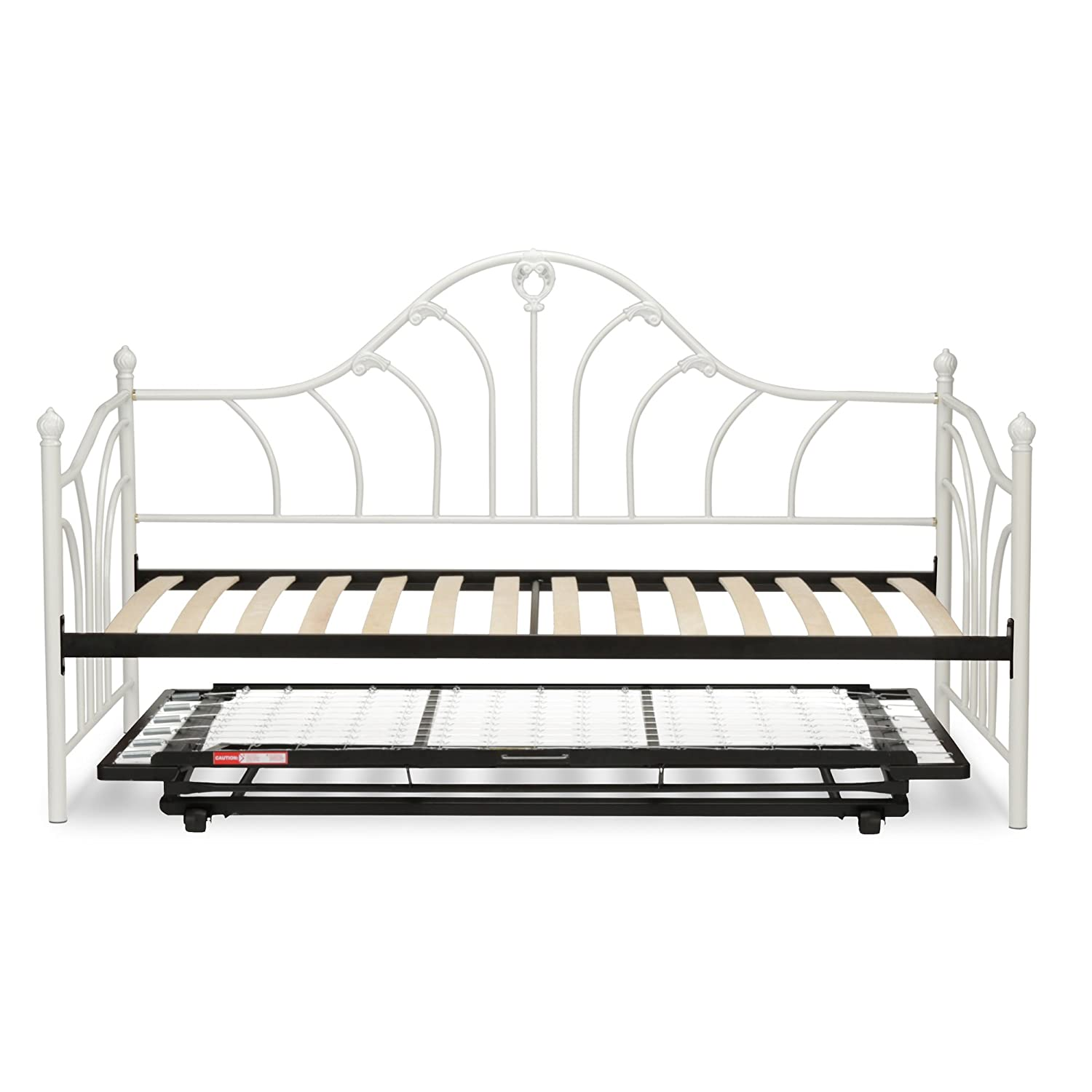 Amazoncom Leggett Platt Emma Complete Metal Daybed With Euro Top