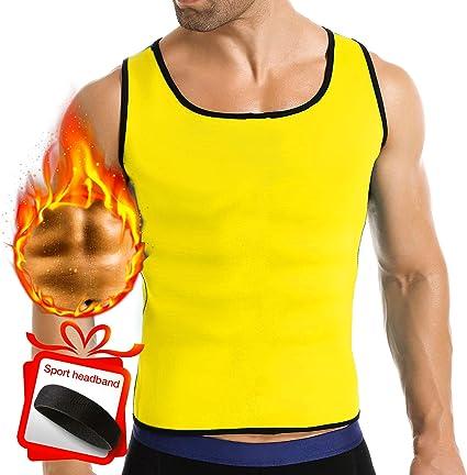 Sauna Body Shaper Slimming Tank Top Trimmer Sports Suit Thermo Neoprene Vest