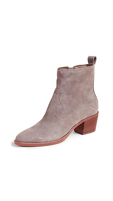 b10185e7108 Amazon.com: Dolce Vita Women's Daliss Block Heel Booties, Dark Taupe, Tan,  Grey, 8.5 M US: Shoes