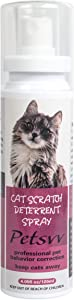 Cat Deterrent Spray, Cat Scratch Deterrent Training Spray Safe for Plants, Furniture, Floors, Non-Toxic, Alcohol Free