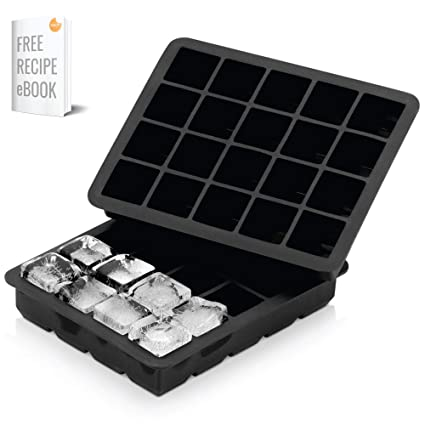 Amazon.com  Arctic Chill - Silicone Ice Cube Tray for Chilled Drinks ... c8d7b3ef24985