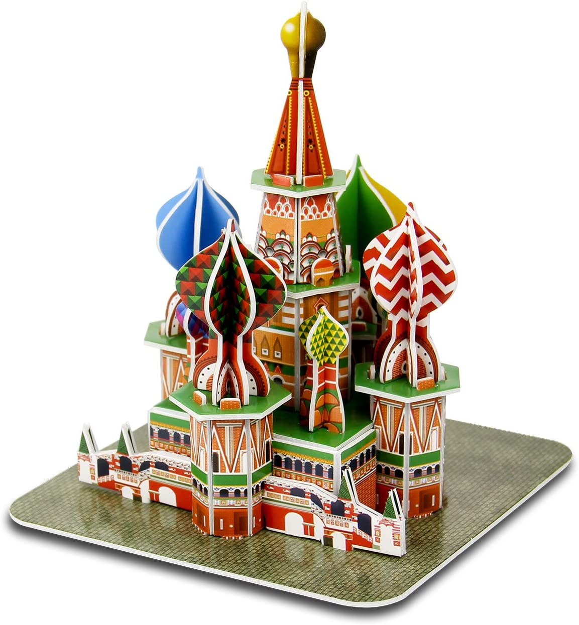 Famous Building Large Puzzle Game Toys Gift Basil Cathedral Jigsaw Puzzles 1000 Pieces for Adults Kids