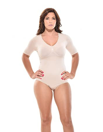 60ee434d6f Amazon.com  Seamless Body Shaper - Body Briefer Shapewear
