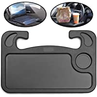 Notebook Car Travel Table Auto Steering Wheel Desk Car Steering Wheel Food Eating Tray Notebook Laptop Table Desk for…