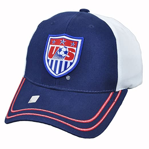 6ce609e7003 Amazon.com  Team USA Soccer 2014 World Cup Adjustable Baseball Hat ...