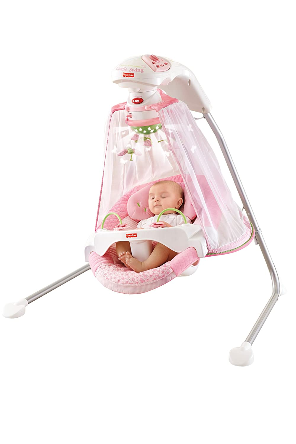 Amazon.com  Fisher-Price Papasan Cradle Swing Butterfly Garden One Size  Stationary Baby Swings  Baby  sc 1 st  Amazon.com & Amazon.com : Fisher-Price Papasan Cradle Swing Butterfly Garden ...