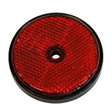 Carpoint 0413961 Reflector Round 70 mm 2 Units Red