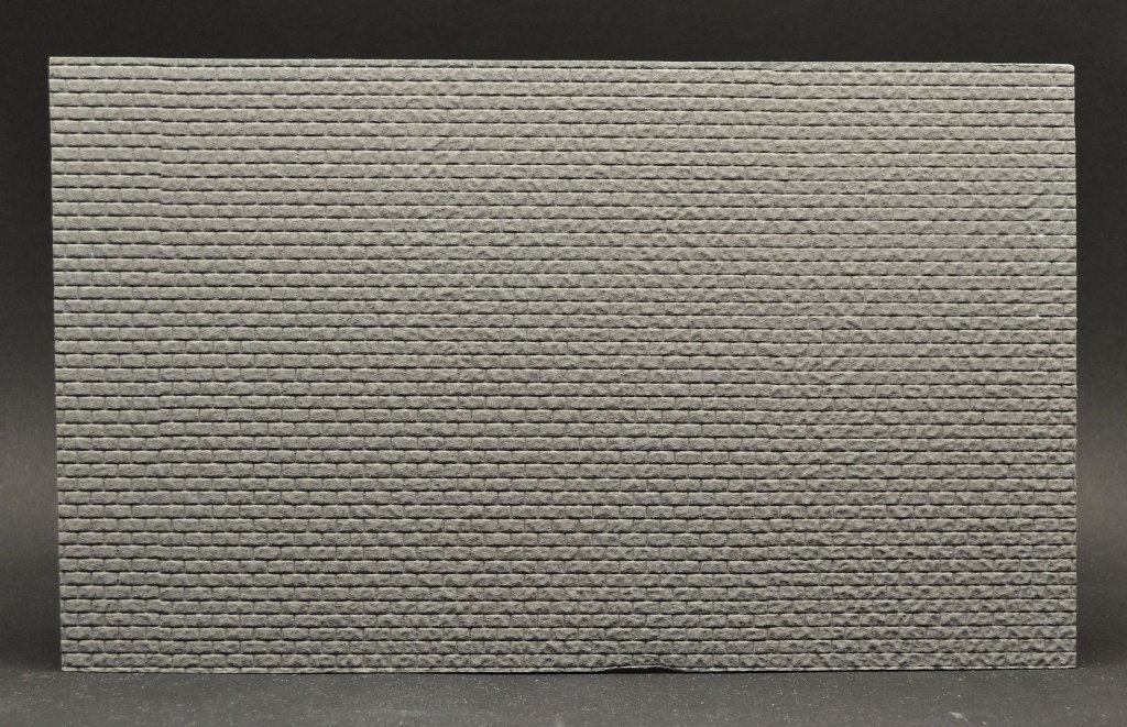 Reality In Scale 1:35 1:48 Wall Section Rough Regular Cut Stone 30X18cm #WALL09