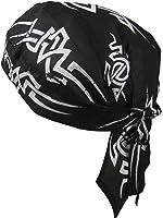 Bandana Motif tribal Noir/blanc