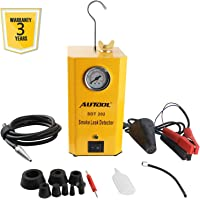 AUTOOL SDT-202 Car EVAP System Leak Testing Machine Leak Detector, 12V Automotive Fuel Pipe System Leak Tester with EVAP Adapters for All Vehicles - 3 Years Warranty