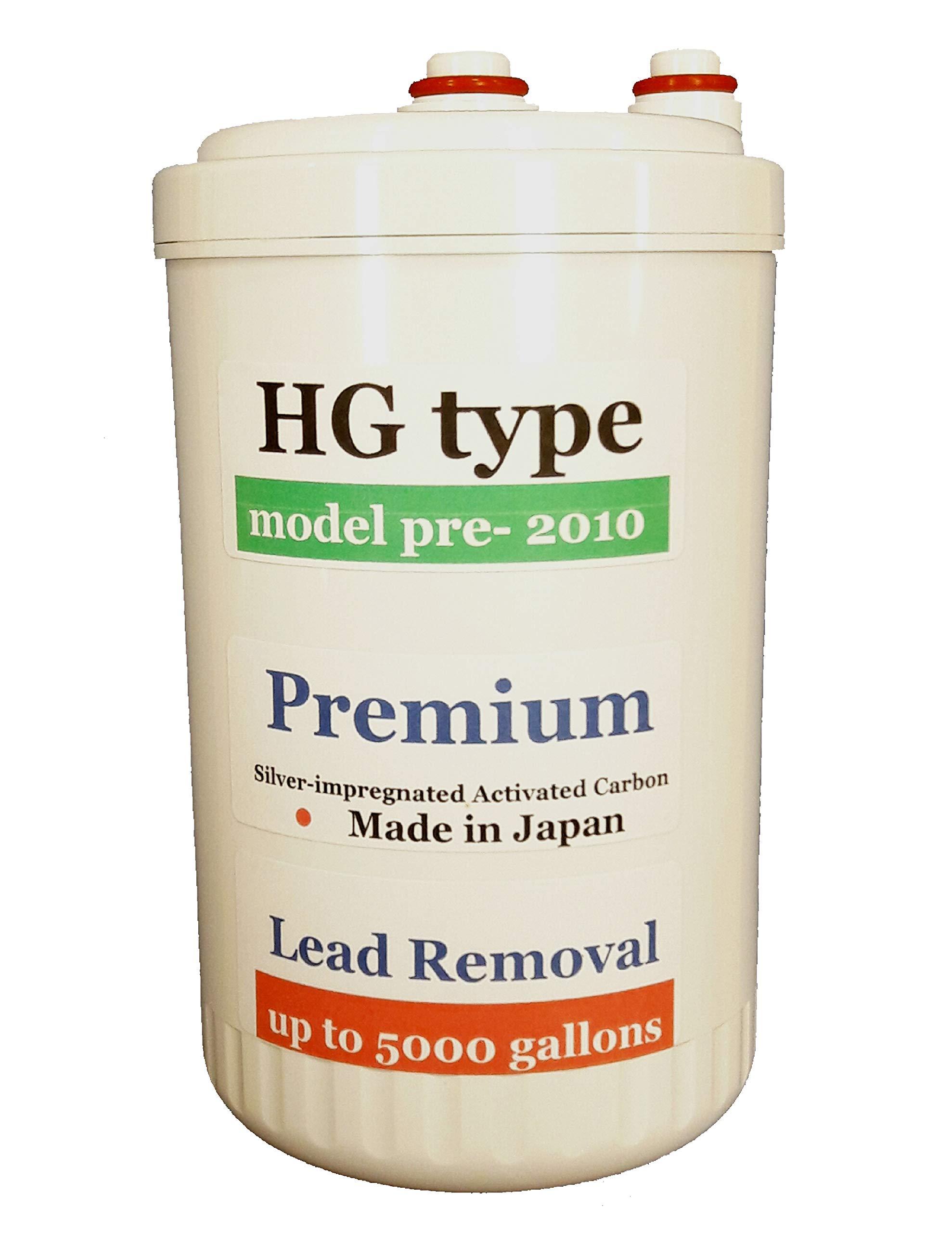 Japan Made Genuine Premium Grade Compatible Filter for MW-7000HG Replacement Filter for Enagic Kangen SD501HG - ''HG'' Original Model(Not Compatible with HG-N Models)