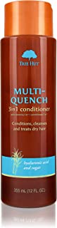 product image for Multi-Quench 3-in-1 Conditioner, Tree Hut Hair & Scalp Treatment With Organic Shea Butter, for Normal To Dry & Color Treated Hair, No Sulfates, Made In USA, 12 Fl. Oz