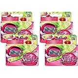 Dorco Shai SoftTouch 6- Six Blade Razor Shaving System- Value Pack (16 Cartridges)