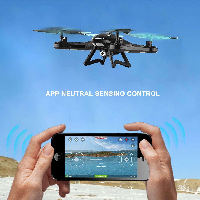 PowerLead RC Drone FPV VR WiFi RC Quadcopter 2.4GHz Giroscopio de ...