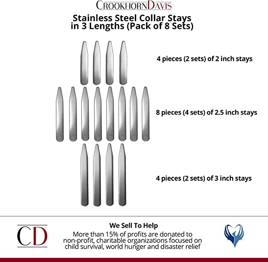Orion Stainless Steel Collar Stays