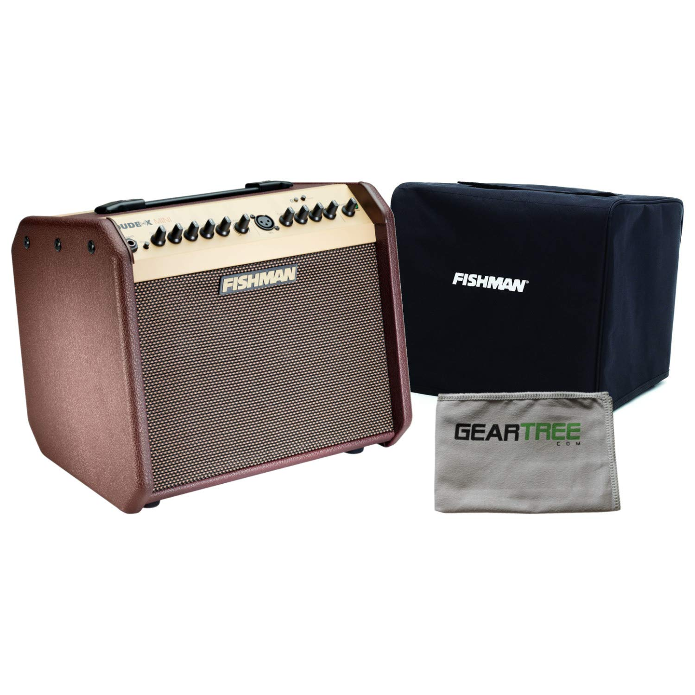 Fishman PRO-LBT-500 Loudbox Mini with Bluetooth Acoustic Guitar Amp w/Slip Cove by Fishman