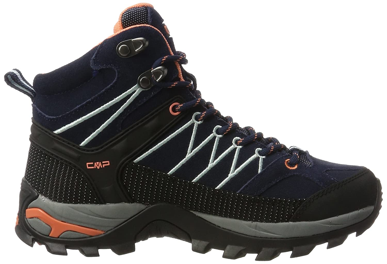 CMP Wanderstiefel Damen Rigel Mid Trekking-& Wanderstiefel CMP Blau (B.blue-giada-peach 92ad) 06ac6d