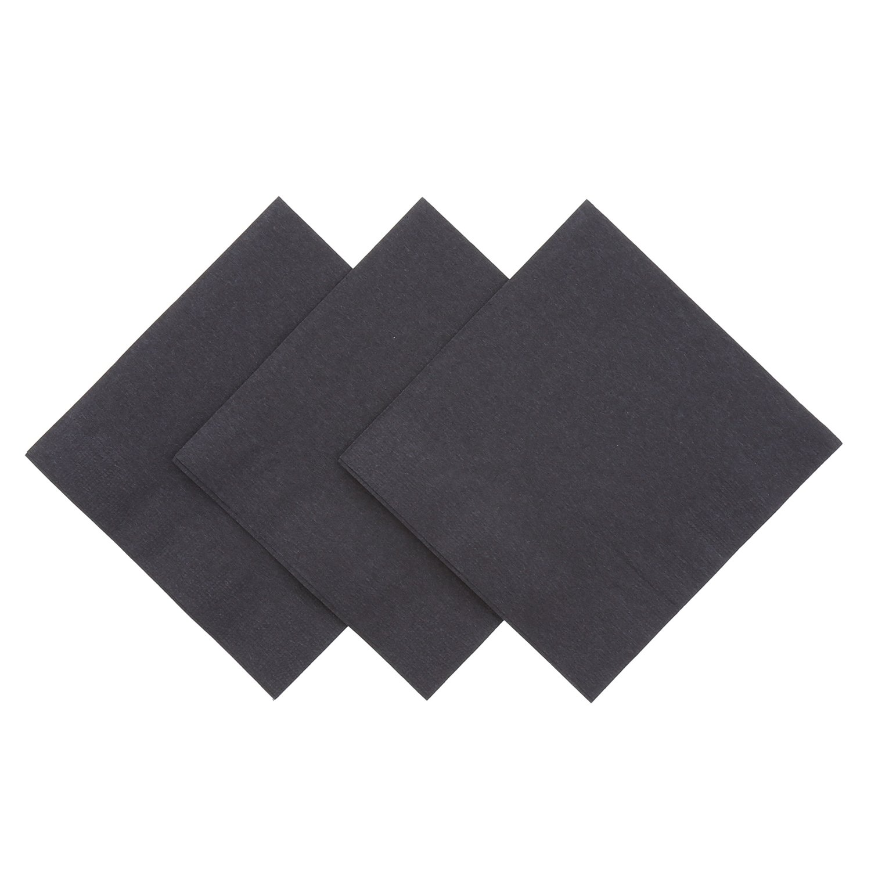 Royal Black Beverage Napkin, Package of 1000 by Royal (Image #1)