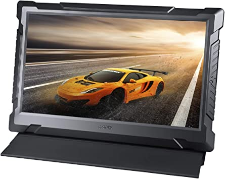 Monitor de juegos G-STORY de 13,3 pulgadas WQHD 2K 1440P, portátil con la tecnología Eye-Care (protección para los ojos) para PS4, Xbox One (no se incluye) con FreeSync, tipo C, cable HDMI: