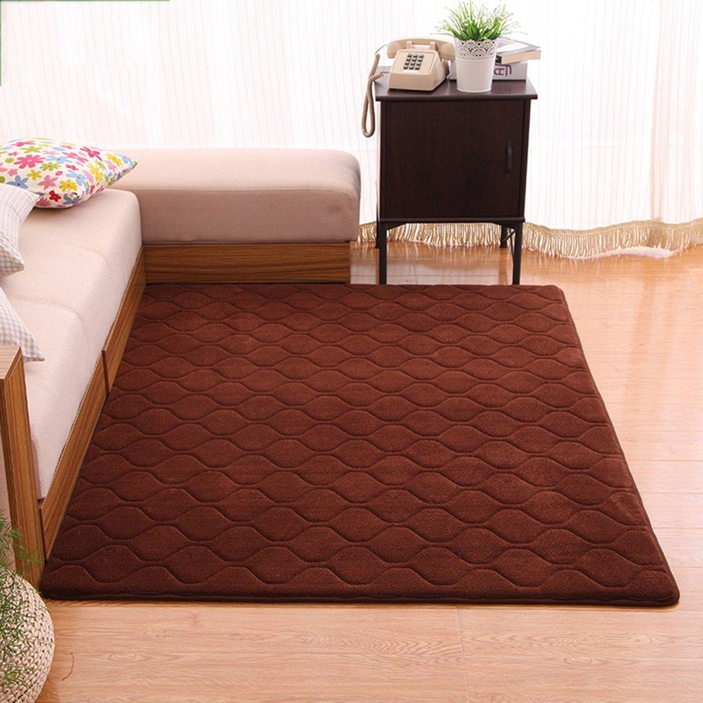 HAOJUN Bereich Teppich Rutschfeste Wohnzimmer rechteckige Teppich Schlafzimmer Baby Crawler Decke Teppich (Farbe    2, größe   140  200CM)