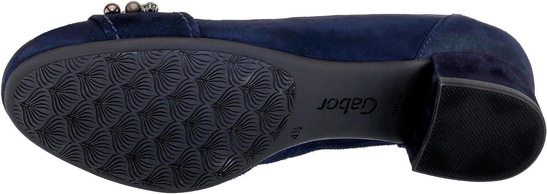 Gabor Comfort Damen Pumps blau 443198: : Schuhe