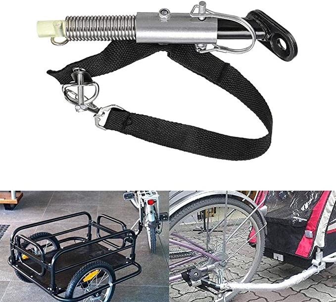 Universal Bike Trailer Hitch Trailer Hitch Adapter Quick Release Steel Linker