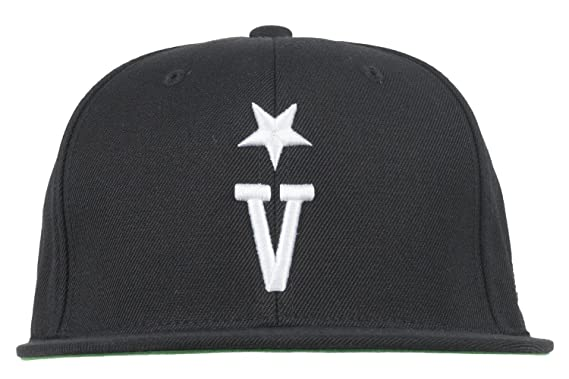 a5d8d0c73ee Amazon.com  Black Scale BLVCK SCVLE V Snapback Hat Mens Adjustable ...
