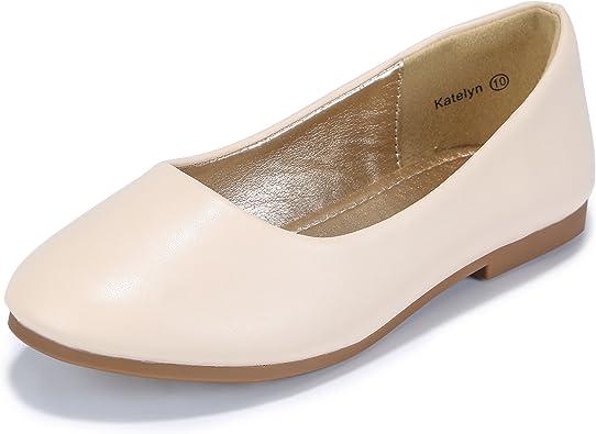 Amazon Com Pandaninjia Girls Toddler Little Kid Katelyn Dress Flats Shoes Slip On Flower Girl Wedding Party Ballet Flat Shoes Flats
