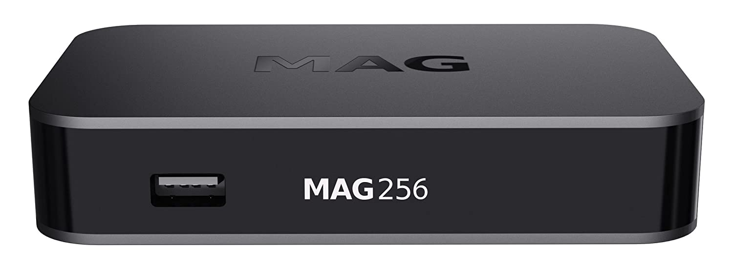 Original Mag 256  IPTV Multi Media Streamer hevc Caja HDMI USB Full HD Informir Mag256