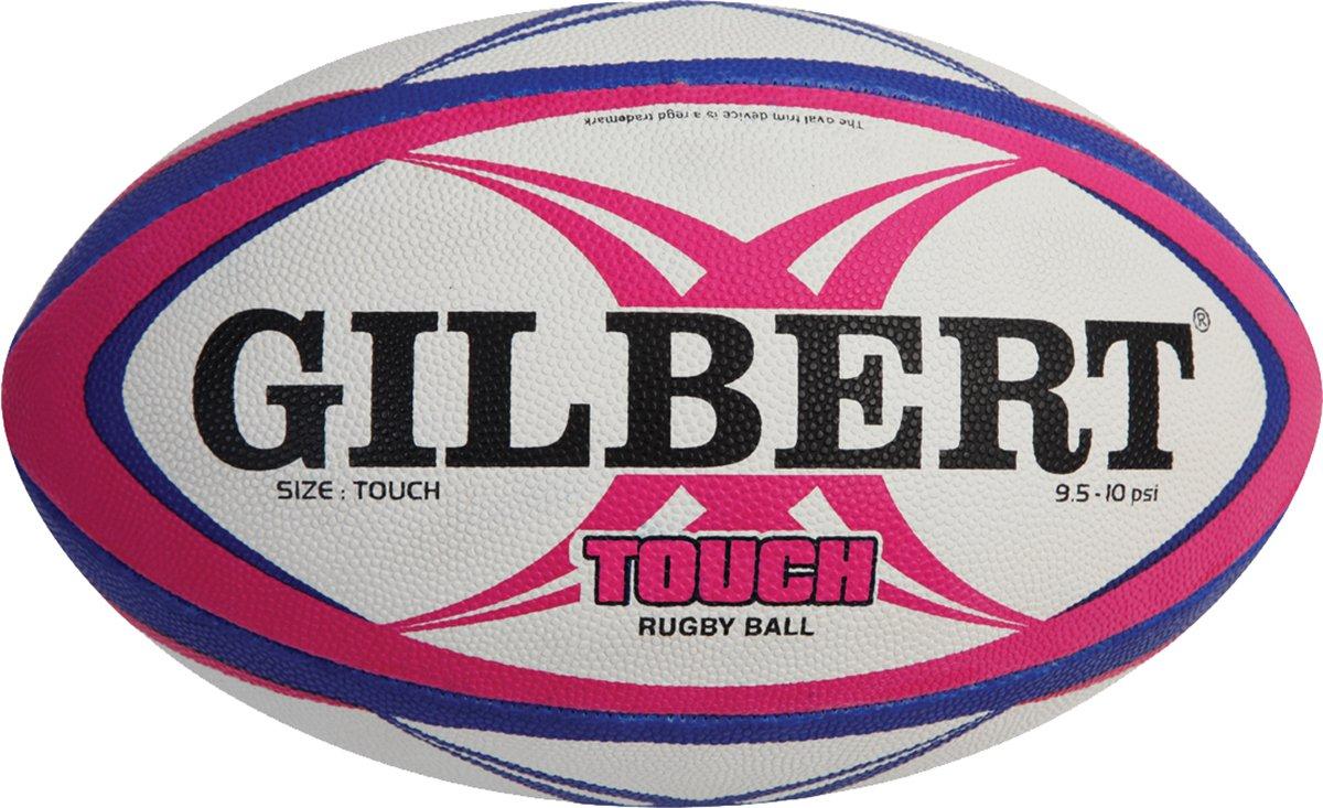 GILBERT TOUCH Rugby deportes balón profesional talla única, Rosado ...