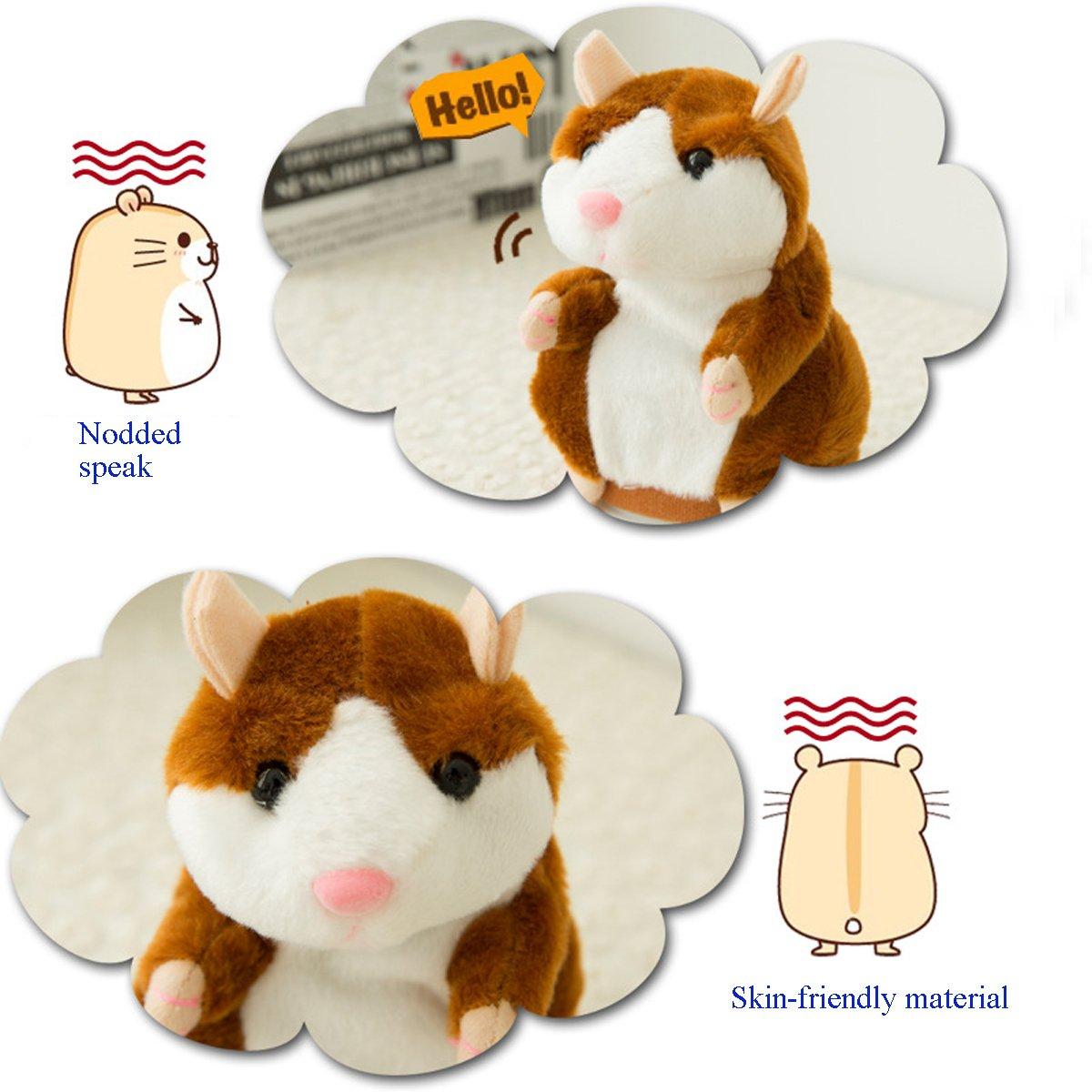 The Original Talking Hamster