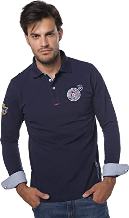 Valecuatro Polo H League, Hombre, Azul Marino XS: Amazon.es ...