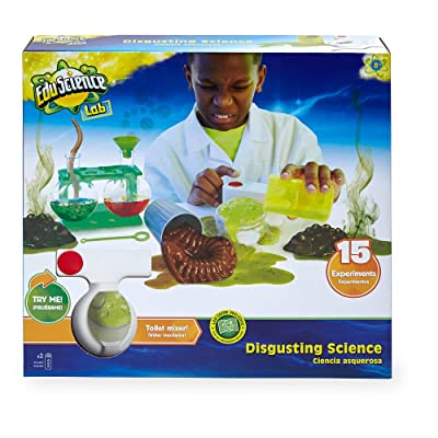 Edu Science 15 Experiment Disgusting Science Kit: Toys & Games