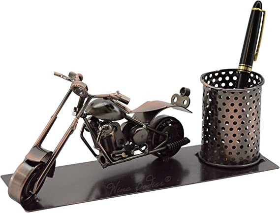 Motorcycle Pen Holder