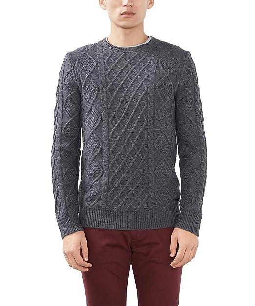 ESPRIT Collection Suéter para Hombre TKXjh
