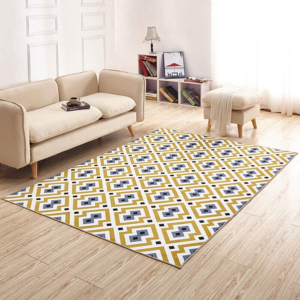 d8482e9003b89 Amazon.com: Enkoo Carpet living room European Nordic style INS wind ...