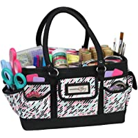 Everything Mary Craft Bag Organizer Tote, Pill - Storage Art Caddy for Sewing & Scrapbooking - Crafts Supply Carrier w…
