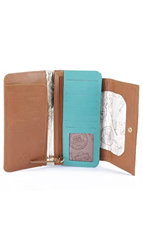 Velez Women Genuine Full Grain Leather Soft Bifold Small Slim Compact Wallet Money Organizer Pocket Casual Dressy Fashion Cute Belt Thin Wide Set Kit at ...
