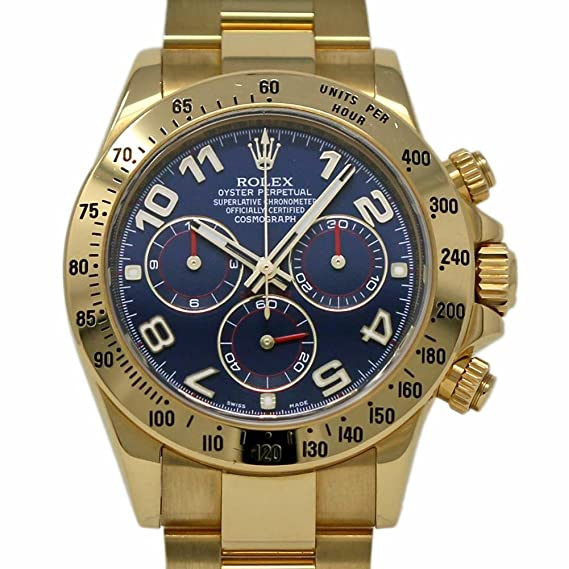 Rolex Daytona swiss-automatic Mens Reloj 116528 (Certificado) de segunda mano: Rolex: Amazon.es: Relojes