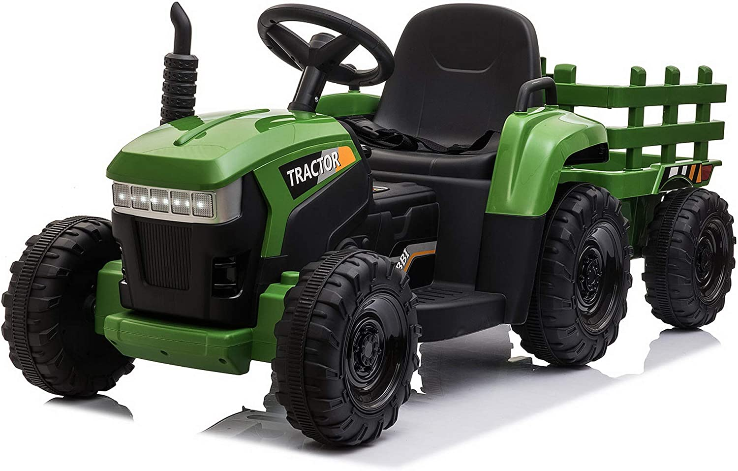 TOBBI 12v Battery-Powered Toy Tractor